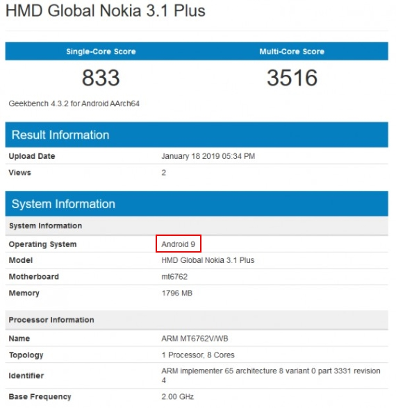nokia 3.1 plus android 9 proof 570px