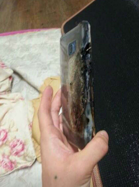 Galaxy Note 7 explode