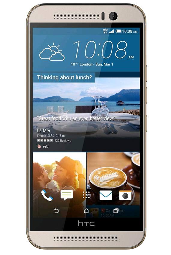 HTC-One-M9-ouro