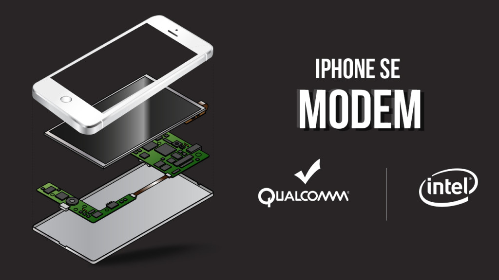 iPhone SE qualcomm intel