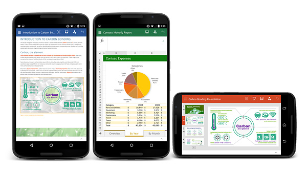 Microsoft Office para smartphones Android