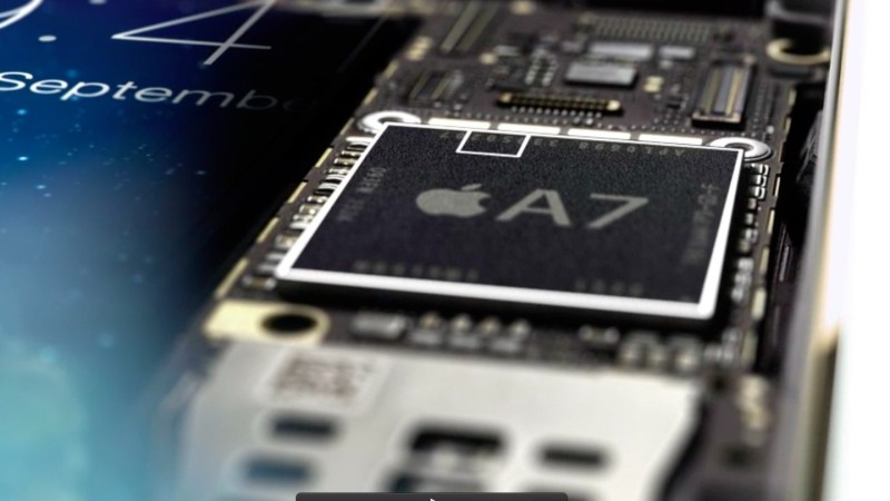 Chip Apple A7 Secure Enclave 001