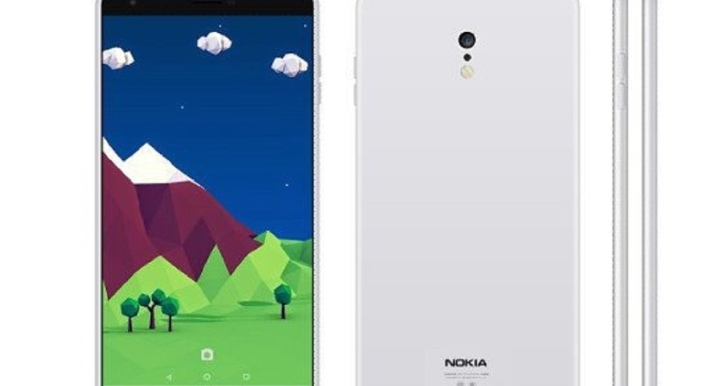 Telefone Nokia C1 Android render 1